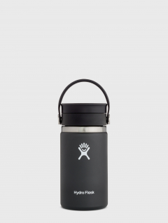Botella Térmica Negra Flex marca Hydro Flask 355ml
