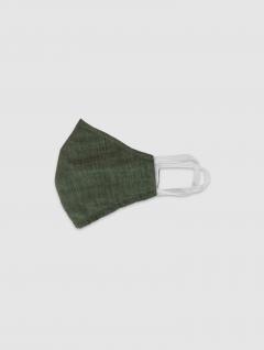 Tapaboca Verde Infantil Algodón