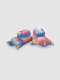 Pantuflas Garra Multicolor