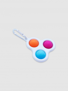 Llavero Pop It Triple Color