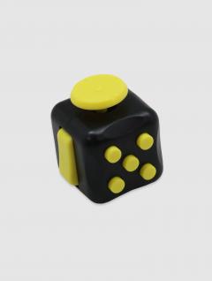 Juguete Cubo Dado Negro-Verde