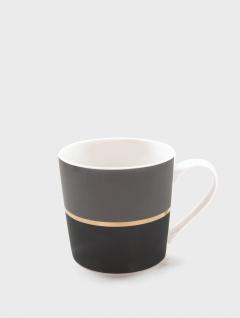 Mug Gray Black 410ml