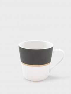 Mug Gray Black 340ml