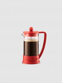 Cafetera Brazil marca Bodum Roja 350ml