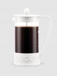 Cafetera Brazil  marca Bodum Blanca 1000ml