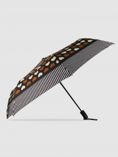 Paraguas Heart Marrón