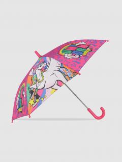 Paraguas Unicornio Infantil Rosa