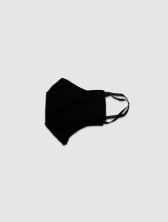Tapaboca Negro Infantil 3D