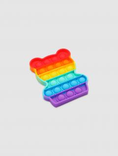 Juguete Pop It Osito Multicolor 10cm