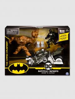 Bati Moto c/Batman + Villano