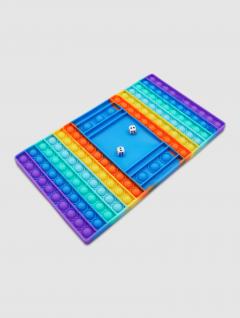 Juego de Mesa Tablero Pop It Multicolor