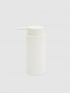 Dispenser Jabón Líquido Alto Blanco Laminado