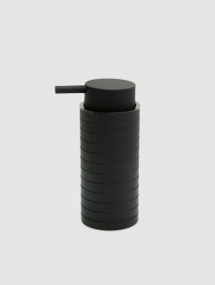 Dispenser Jabón Líquido Alto Negro Laminado