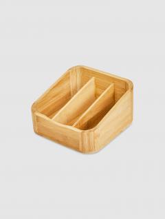Organizador Baño Bamboo 3 Divisiones