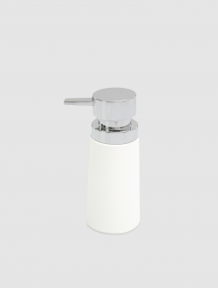 Dispenser Jabón Líquido Blanco Big Premium 18x8cm