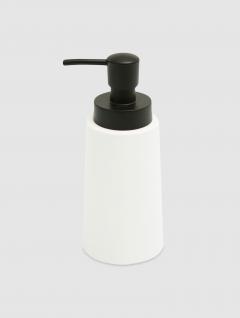 Dispenser Jabón Líquido Blanco Premium 19x8cm