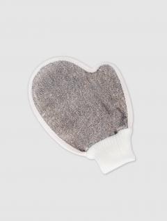 Esponja Guante Natural/Gris