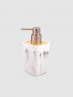 Dispenser Jabón Líquido Carrara/Wood Blancoco Quadri 15x7cm