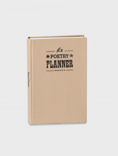 Poetry Planner Perpetuo Cosido Arena