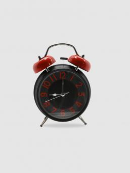 Reloj Camp Negro y Rojo