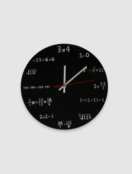 Reloj Fórmula Negro