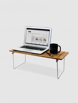 Escritorio Porta Laptop Para Cama y Sillón Bamboo