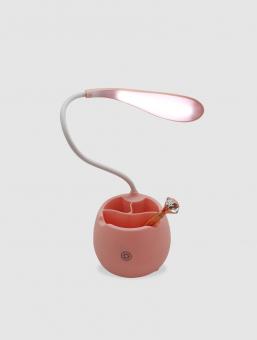 Lámpara Recargable de Mesa Rosa