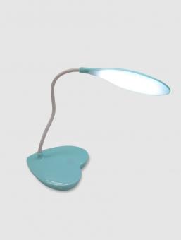 Lámpara de Mesa USB Celeste